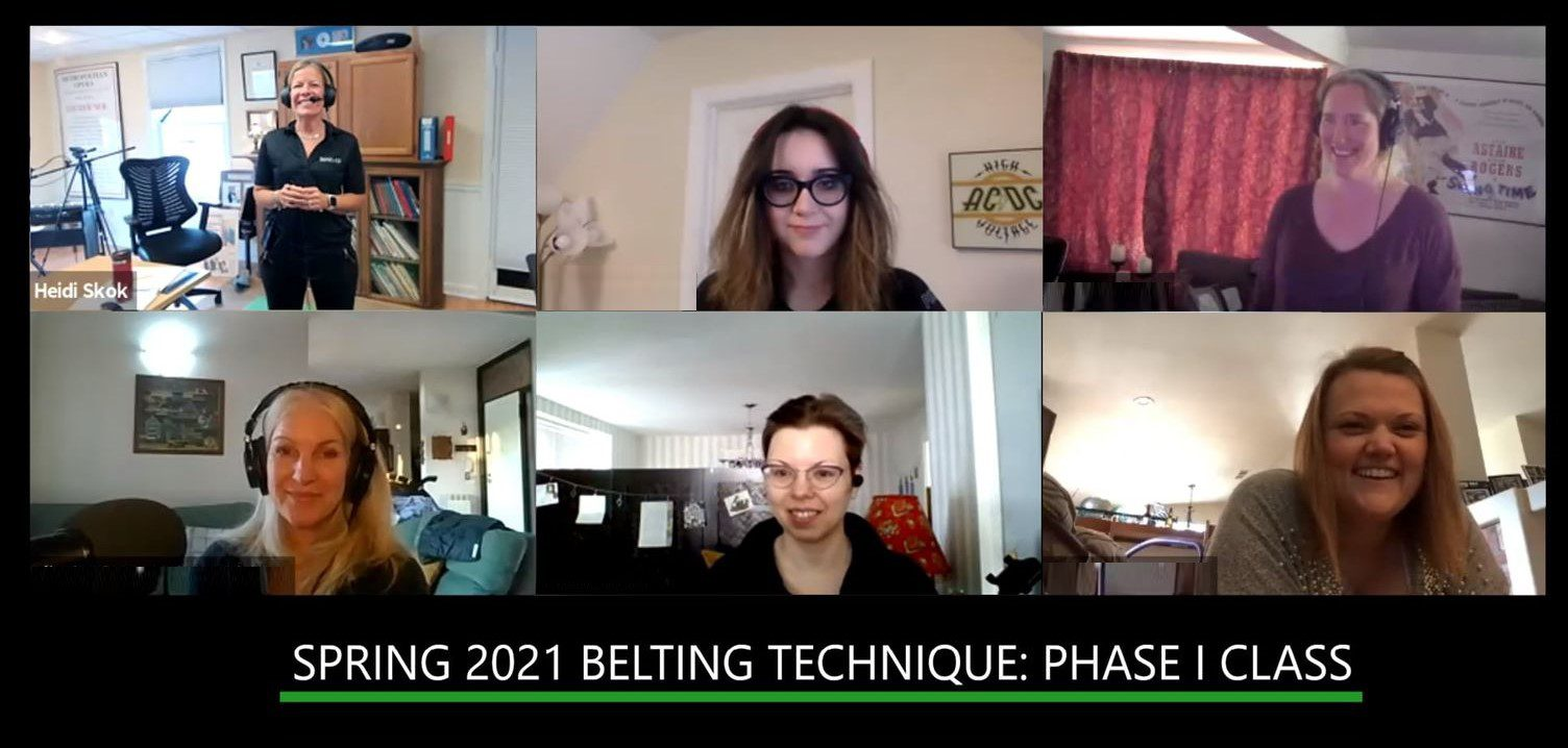 Spring 2021 Belting Technique: Phase I Class