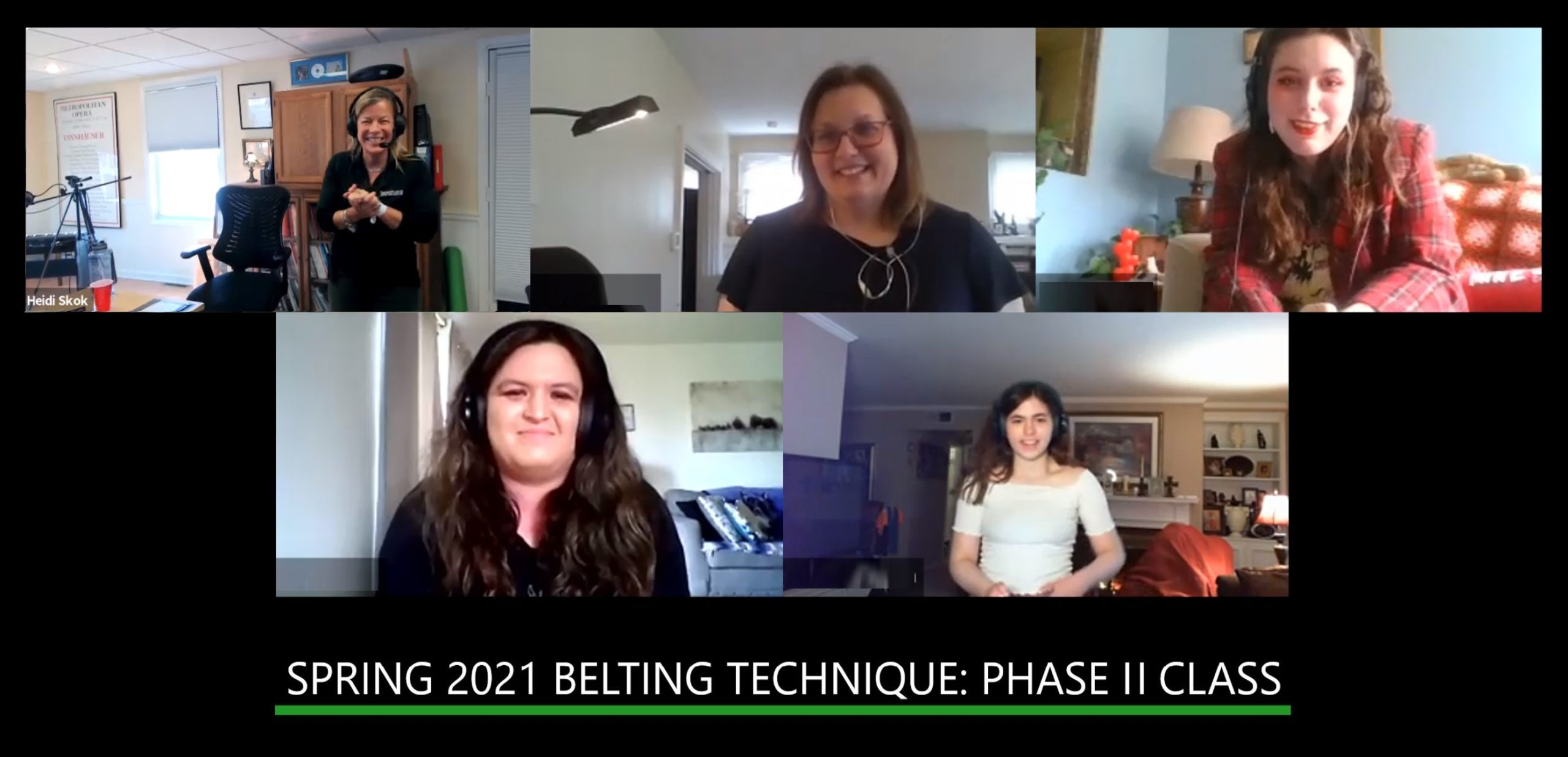Spring 2021 Belting Technique: Phase II